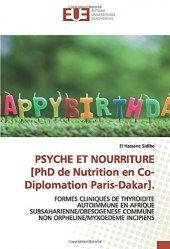 Dernières parutions sur Endocrinologie, Psyche et nourriture [PhD de nutrition en co-diplomation Paris-Dakar]